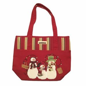 New LONGABERGER Homestead Holiday Tote